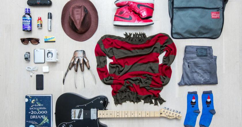 Freddy image from Jason Shaltz' #EverydayHorror 2