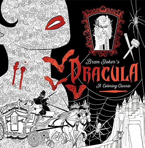 Bram Stokers Dracula A Coloring Classic