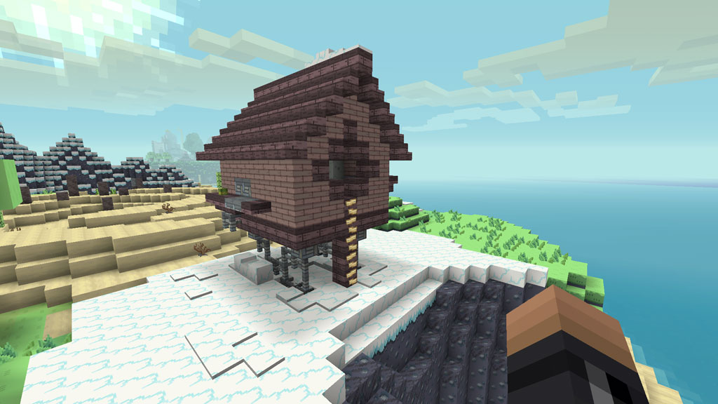 The Shack from Islands in Minecraft Adventure Time Mashup