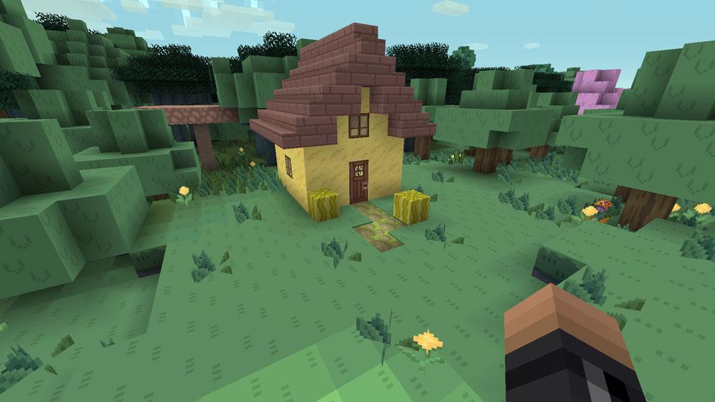Minecraft Adventure Time Veggie Village