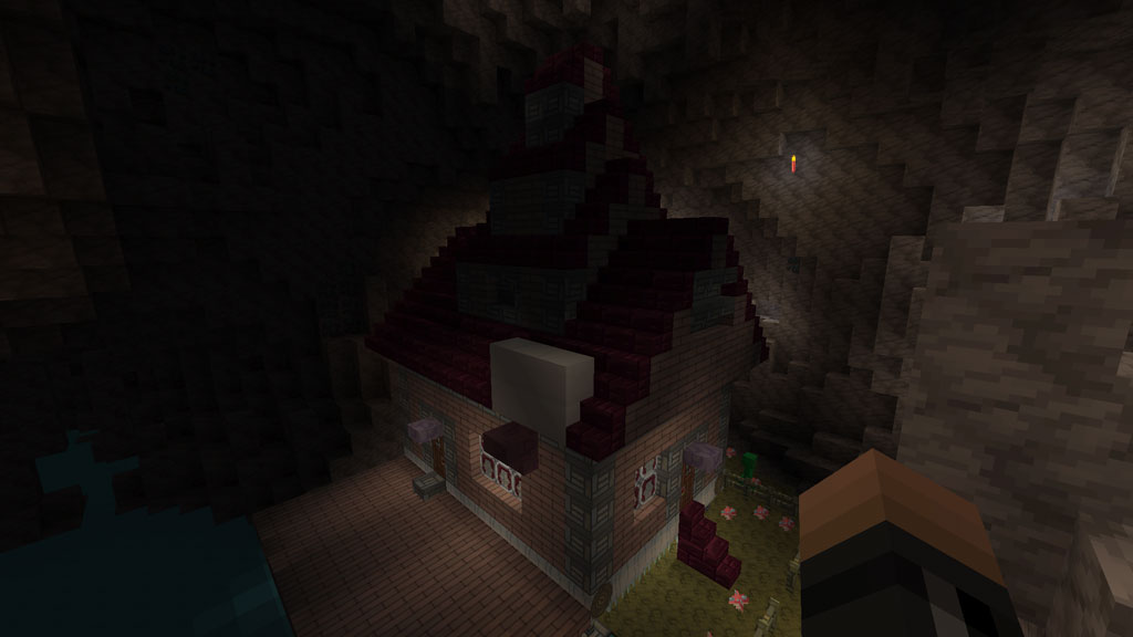 Marcelineu0027s House In Minecraft Adventure Time Mashup