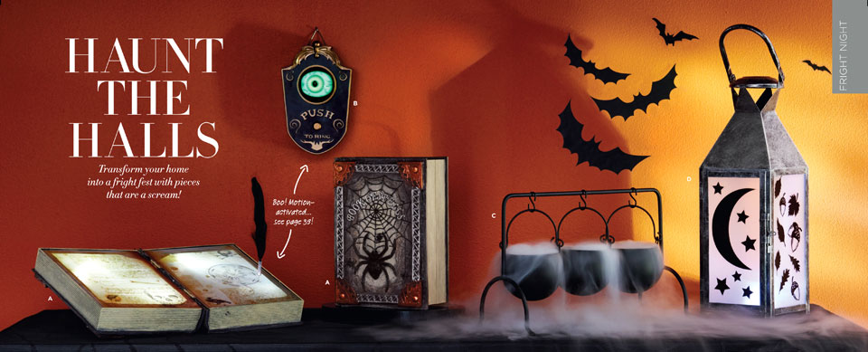 AVON's Full 2017 Halloween Offerings From Their Living Catalog | All Hallows Geek