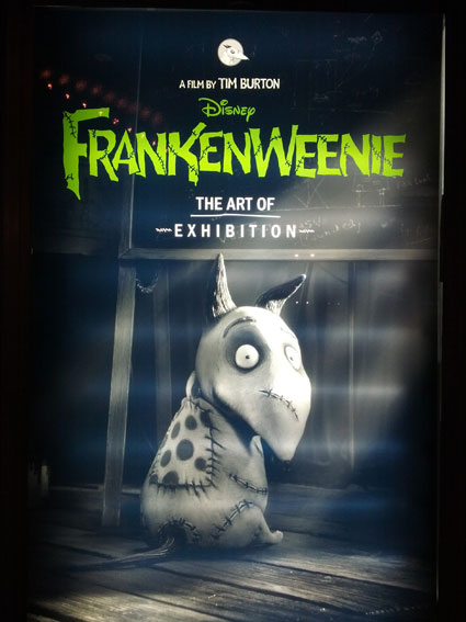 Revisiting The Art Of Frankenweenie Exhibit All Hallows Geek