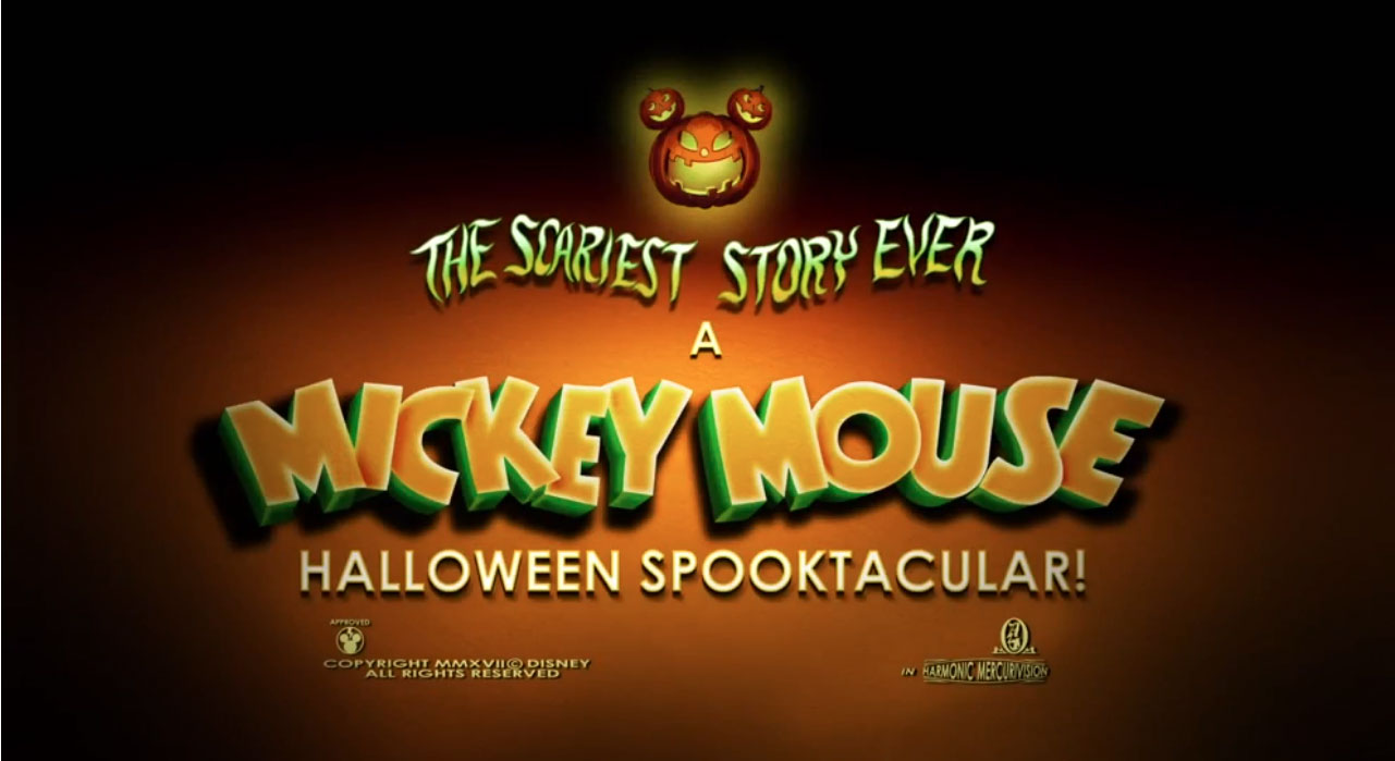 6 Easter Eggs In The Mickey Mouse Halloween Spooktacular All Hallows Geek