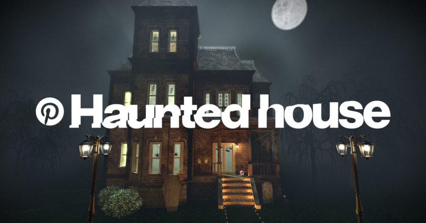 Pinterest Haunted House