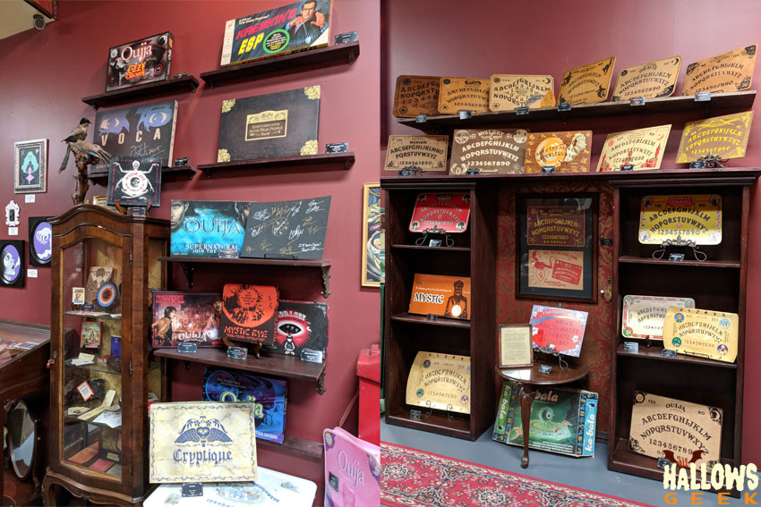 The Mystic Museum's Hereafter Hauntings Exhibit   All