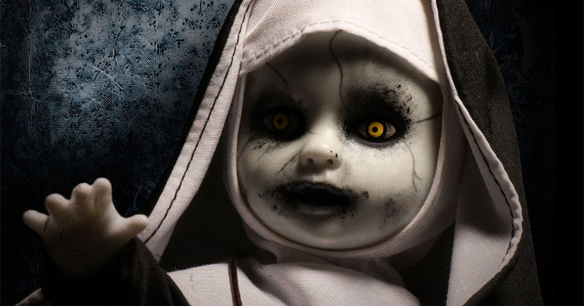 The Nun Living Dead Doll reaching out