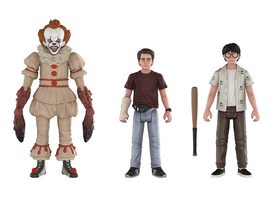 It Stan /& Mike FUNKO 2017 - Action Figure 3-pack Pennywise