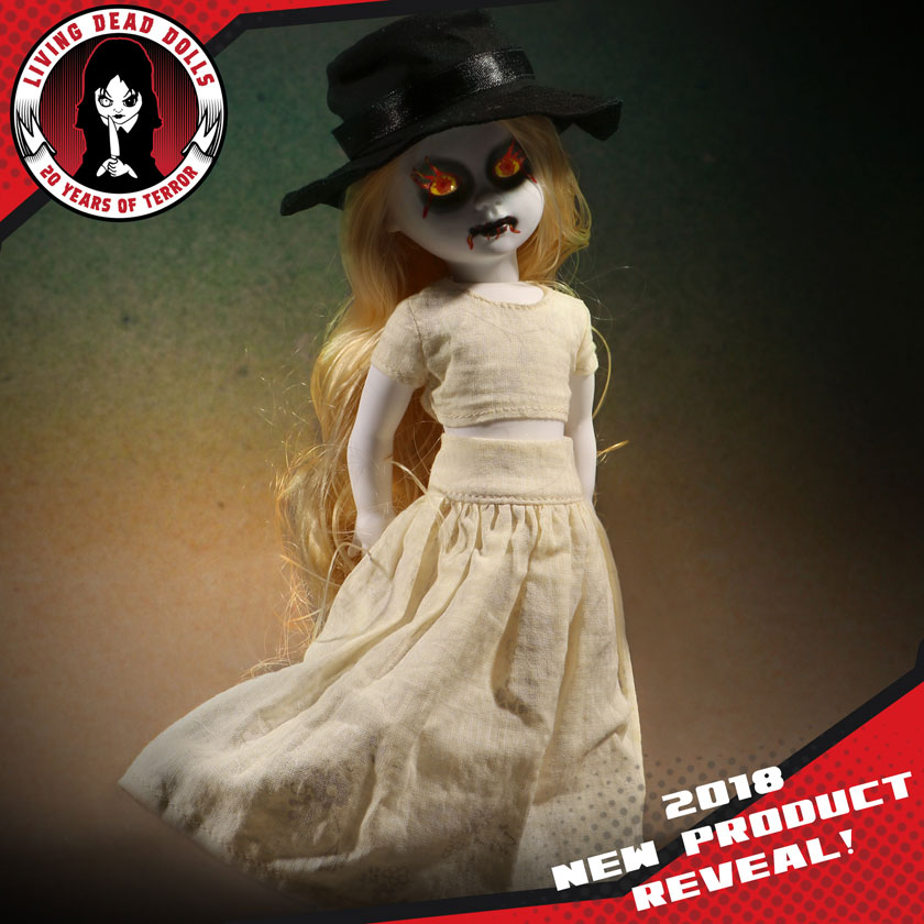 Preview of Living Dead Dolls series 35 doll Galeras