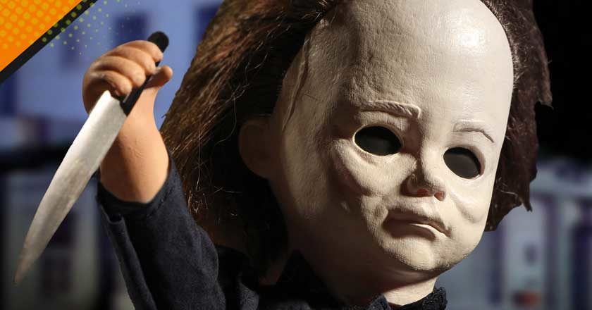 The face of the knew Living Dead Dolls Michael Myers