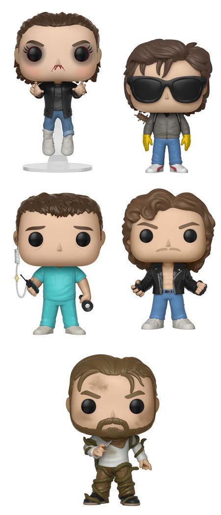 Funko Unveils More Stranger Things Season 2 Pop Figures All