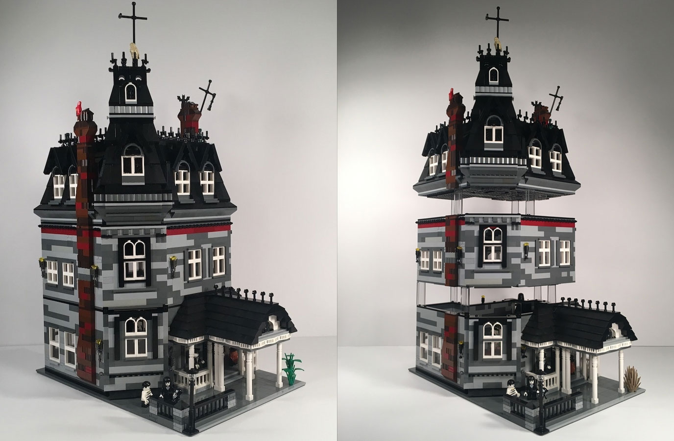 Lego Creator Returns With New Addams Family Lego Ideas Submission