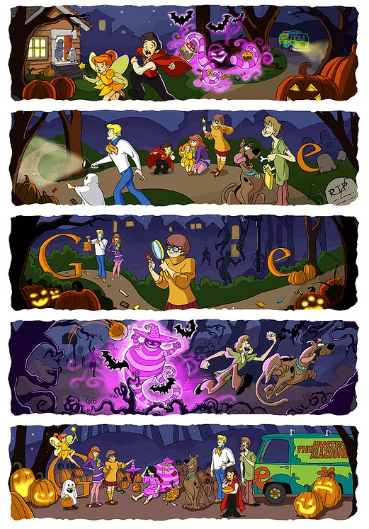 remembering some of google s best halloween horror doodles all hallows geek all hallows geek