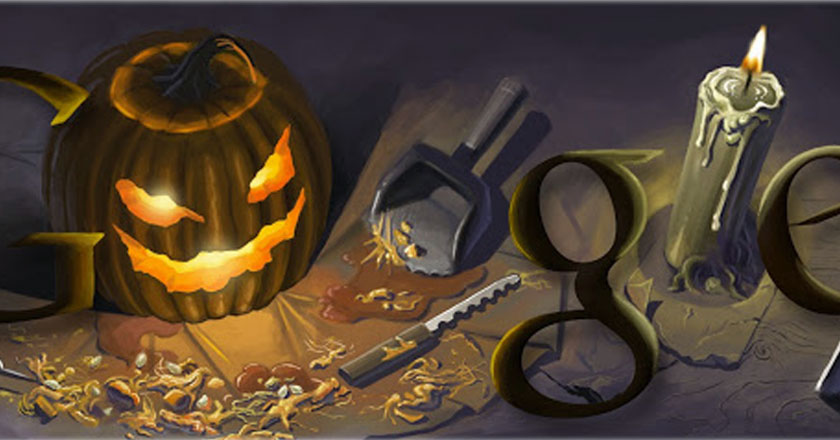 remembering some of google s best halloween horror doodles all