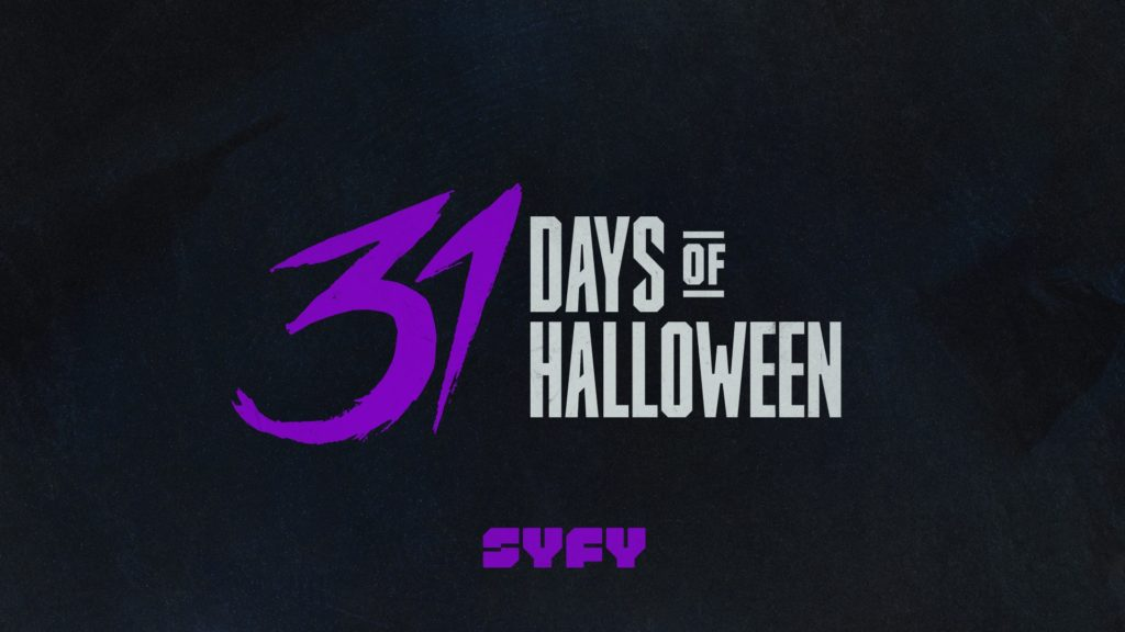 2018 marks the 10th anniversary of syfys 31 days of halloween to celebrate this years lineup will feature five new original films the return of the