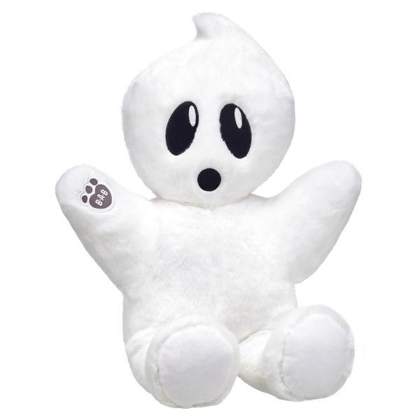 BUILD-A-BEAR Halloween White BOORIFIC GHOST Buddies Smallfrys Mini BOO SHIRT