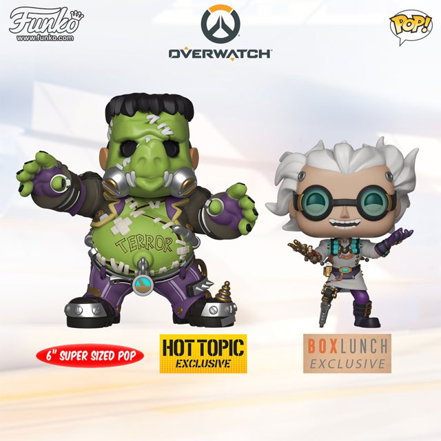 Halloween Pop.Hot Topic Boxlunch Are Getting Exclusive Overwatch