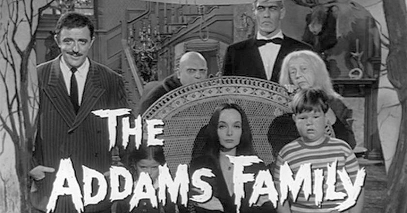 The Addams Family Title Screen