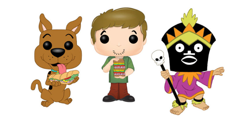 Scooby, Shaggy, and Witch Doctor Pop! figures revealed for London Toy Fair 2019