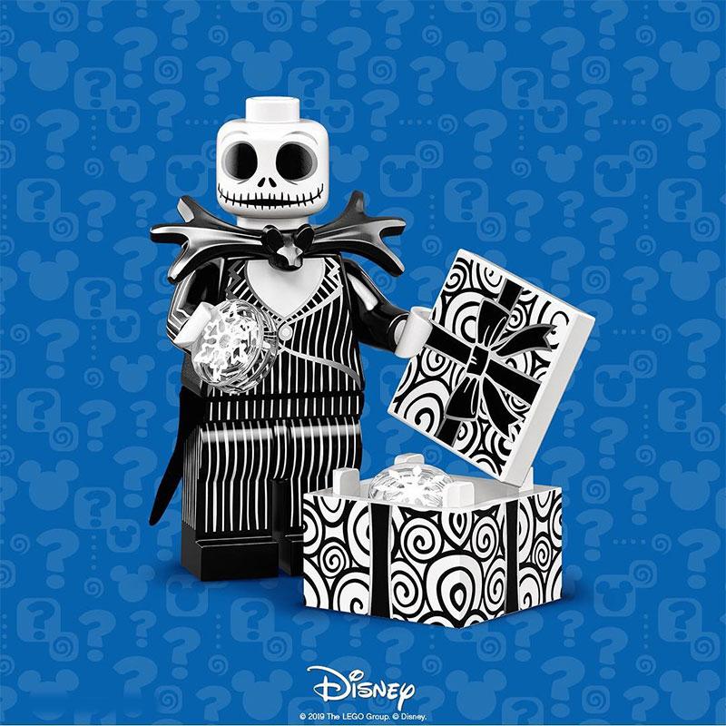 Lego Disney Series 2 Collectible Minifigures JACK SKELLINGTON /& SALLY New NBC