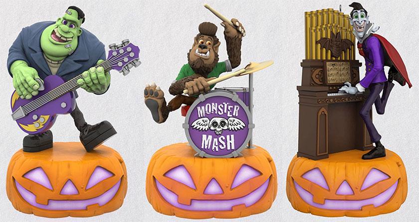 Hallmark S 2019 Halloween Ornaments Include A Monster Mash
