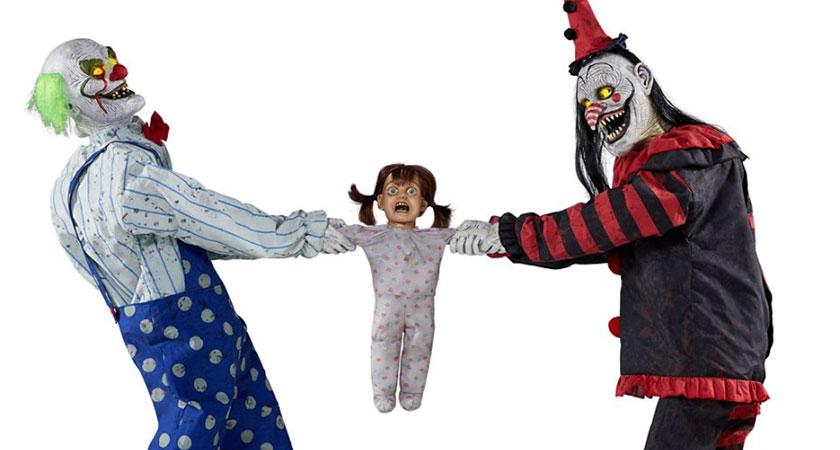 Spirit Halloween Clown Costumes Kids.Spirit Halloween Unveils New Clown Tug Of War Animatronic