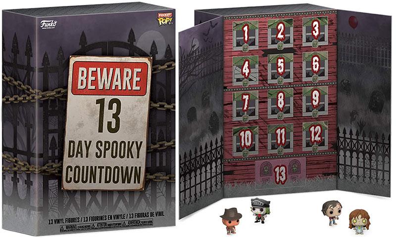 Horror Pocket Pop 13-Day Spooky Countdown